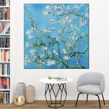 Tablou Van Gogh - Ramuri de migdal inflorit