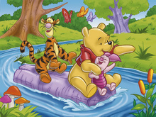 Tablou Winnie the Pooh 02
