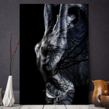 Tablou Canvas Sexy Body Painting SX68