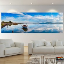 Tablou Panoramic Barca in Larg BFS19A