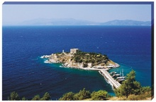 Coasta mediteraneana - regiunea Izmir - Kusadasi-Fortareata Insula Porumbeilor