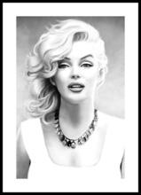 Poster inramat Marilyn Monroe 2