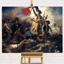 Reproducere Delacroix, Libertatea conducand poporul, RBC6