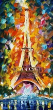 Reproducere Leonid Afremov - Turnul Eiffel Paris