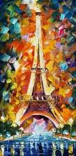 Reproducere Leonid Afremov - Turnul Eiffel Paris
