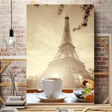 Tablou Aroma Cafelei la Paris