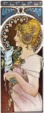 Tablou canvas Alphonse Mucha 026