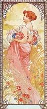 Tablou canvas Alphonse Mucha 044
