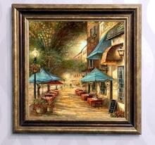 Tablou canvas cu rama maro B006M 7