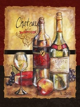 Tablou canvas modern vin 02