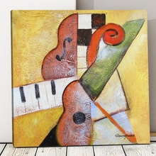 Tablou Canvas Muzical Abstract TRD9