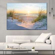 Tablou Canvas Rasarit Printre Dune de Nisip PMO130