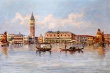 Tablou canvas Vedere de la Venetia