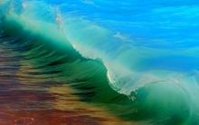 Tablou curcubeu in valuri
