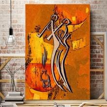 Tablou Decorativ Siluete AFAS47