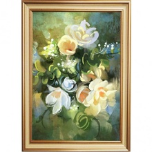 Tablou Floral cu Rama Bqf31