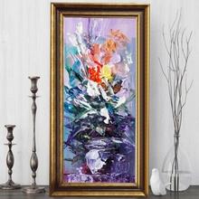 Tablou Floral FAS117, Canvas+Rama