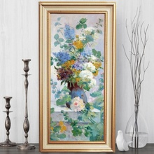 Tablou Flori De Vara FAS128, Canvas+Rama