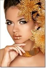 Tablou Gold Makeup