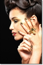Tablou Gold Manicure bman11