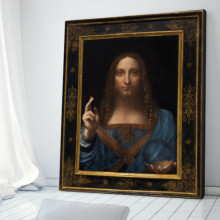 Tablou Leonardo Da Vinci - Salvator Mundi DAV5