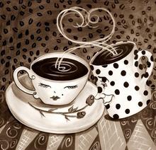 Tablou morning coffee 10