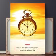 Tablou Motivational TIMP OPO736