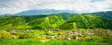 Tablou panoramic montan