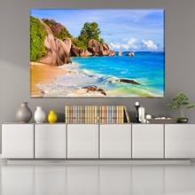 Tablou Plaja Tropicala Seychelles PMO14