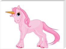 Tablou ponei roz