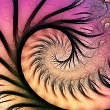 Tablou canvas fractal 05