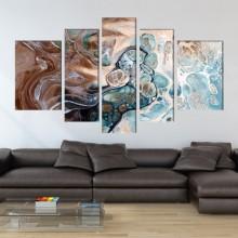 Multicanvas Abstract Waves EXA9