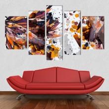 Multicanvas Abstract Digital Spots EXA19