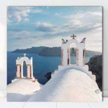 Tablou Canvas Vedere Santorini, Grecia GR36