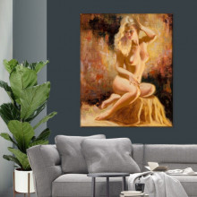 Tablou Canvas Nud Femeie Sexy ARTN10