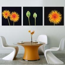 Multicanvas Flori Galbene