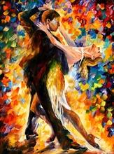 Reproducere Leonid Afremov - Tango in miezul noptii