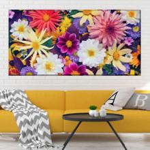Tablou Canvas Crizanteme Multicolore CFB29