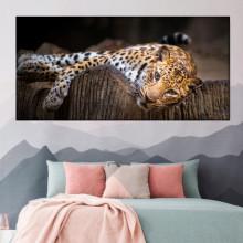 Tablou Canvas Leopard Alintat ATGR120