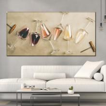 Tablou Canvas Pahare de Vin BRF54
