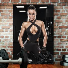 Tablou Model Fitness Feminin PFGT64