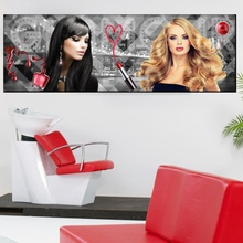 Tablou Panoramic Glamour Beauty Salon