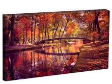 Tablou pod oglindit in peisaj de toamna st13561