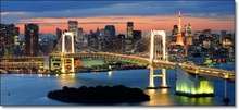 Tablou Rainbow Bridge Tokyo