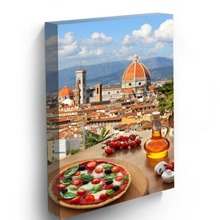 Tablou Vertical Pizza Italiana la Florenta