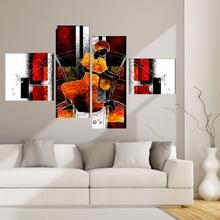 Multicanvas Modern Abstract African