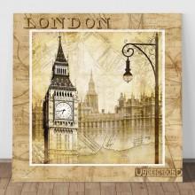 Tablou Vintage Londra VCY4