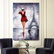 Tablou Plimbare spre Turnul Eiffel TABS11