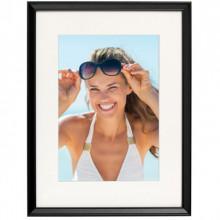 Poster + Rama Femeie Fericita cu Ochelari de Soare OPMD12