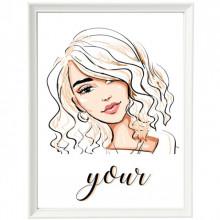 Poster + Rama Schita Beauty Hair Style ILF12B